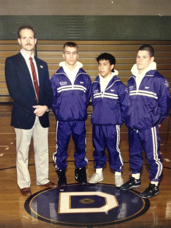 1991 & 1992 STATE CHAMPIONS  Boys Gymnastics