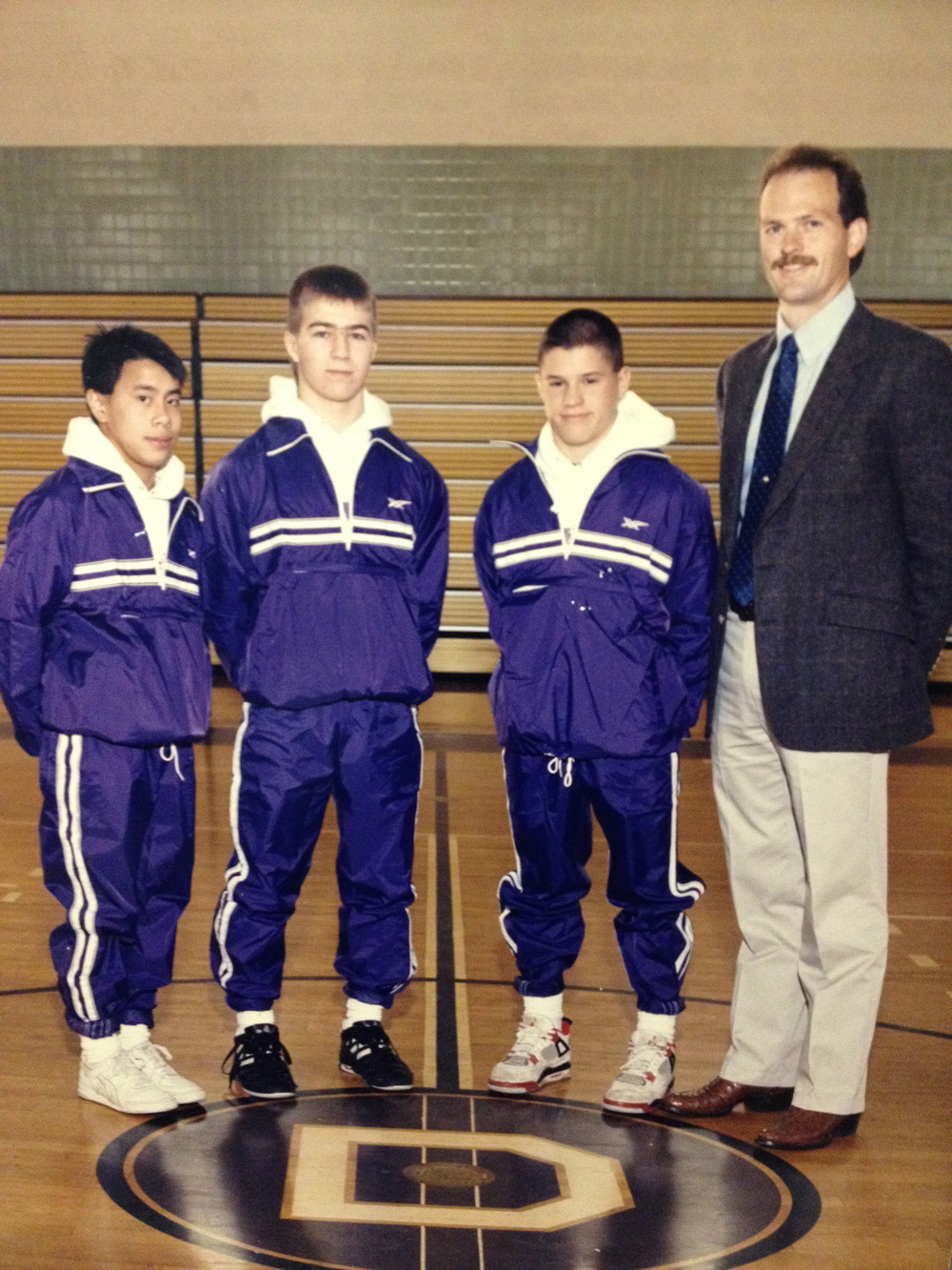 1990 STATE CHAMPIONS  Boys Gymnastics