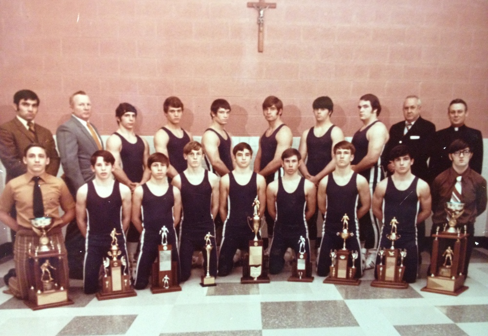 1971 STATE CHAMPIONS  Wrestling