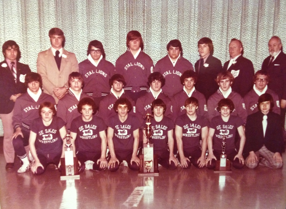 1974 STATE CHAMPIONS  Wrestling