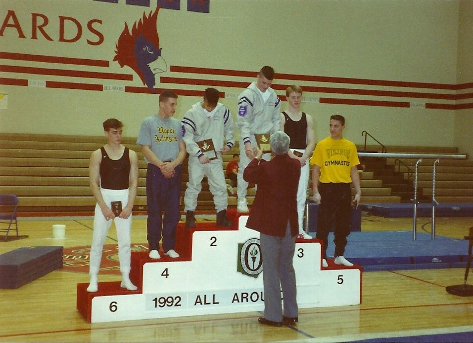 Blaine Wilson, 1992 All-Around State Champion