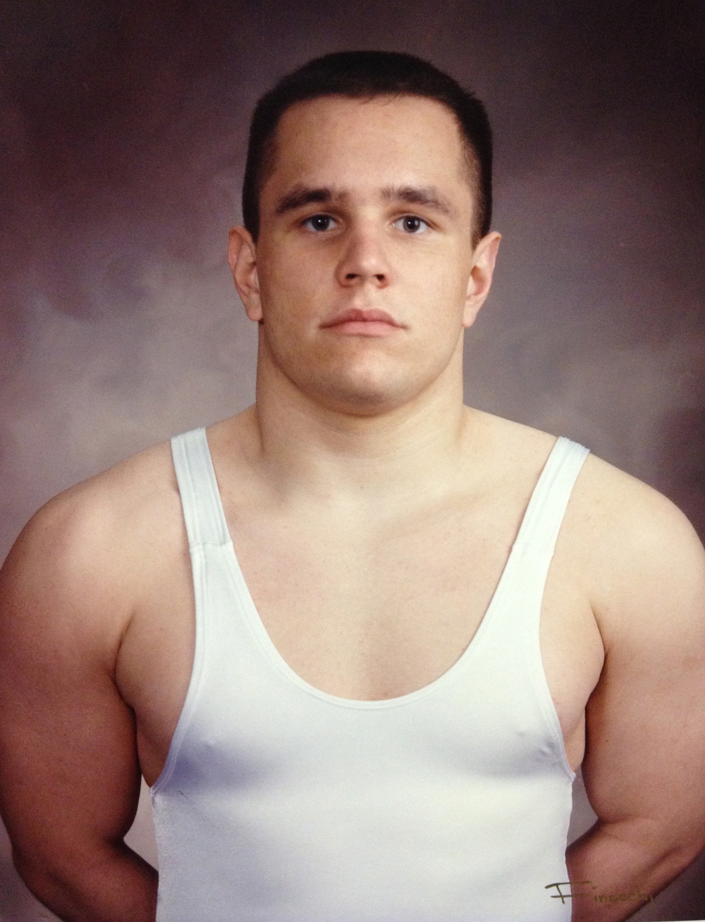 1996, 1997 STATE CHAMPION  John Kelley, Heavyweight