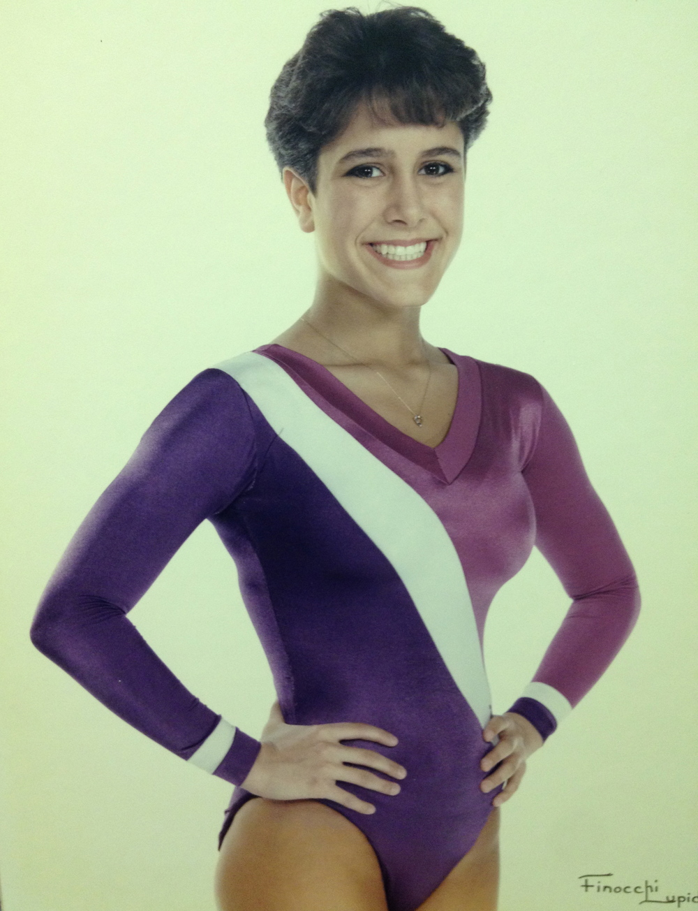 1986, 1987 STATE CHAMPION  Tricia Biancone, Vault