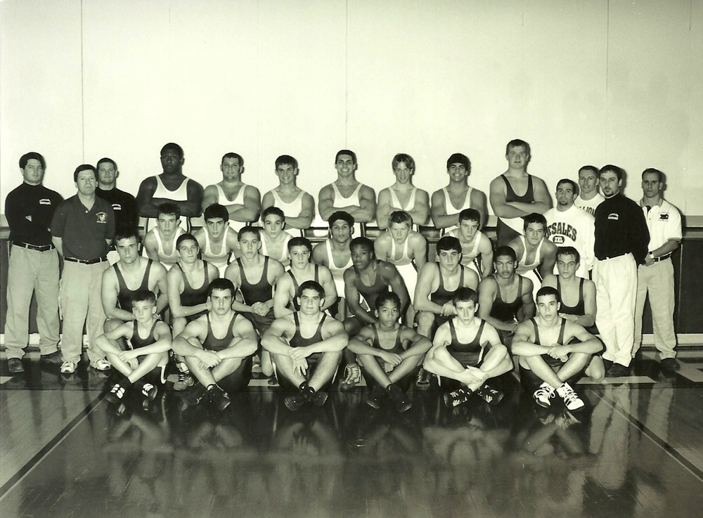 2000 STATE RUNNER-UP  Wrestling