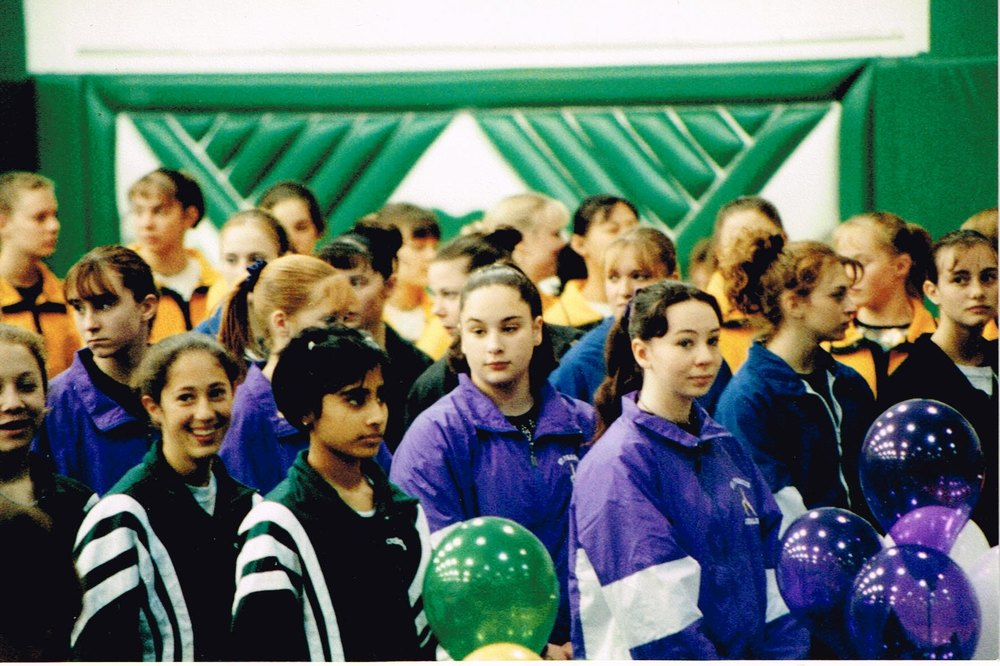 The 2001 State Meet lineup