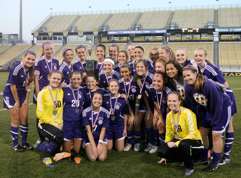 2012 STATE RUNNER-UP  Girls Soccer (photo credit - Barb Dougherty)