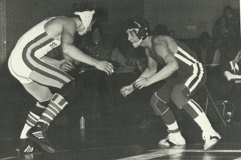 Phil DiSabato prepares for a takedown