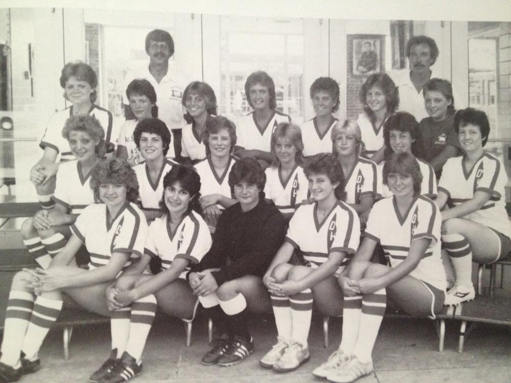 1983 Girls Soccer