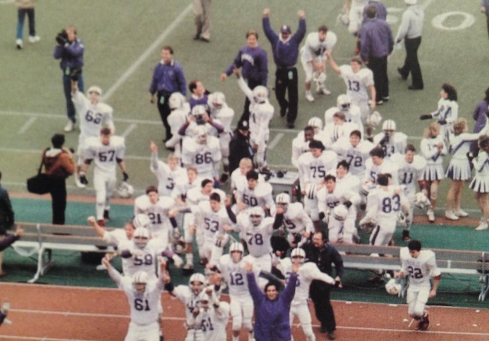 1985 celebration (tony at bottom).JPG