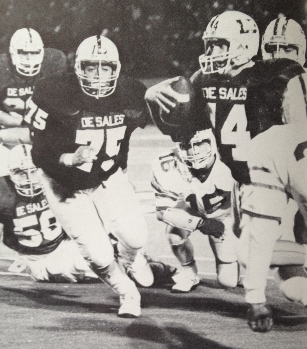Brian Emmerling (14) and Larry Pollard (75)