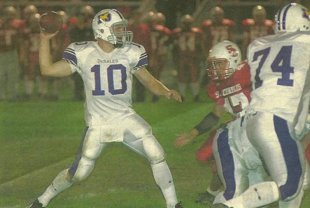 Senior Quarterback Matt Mangini