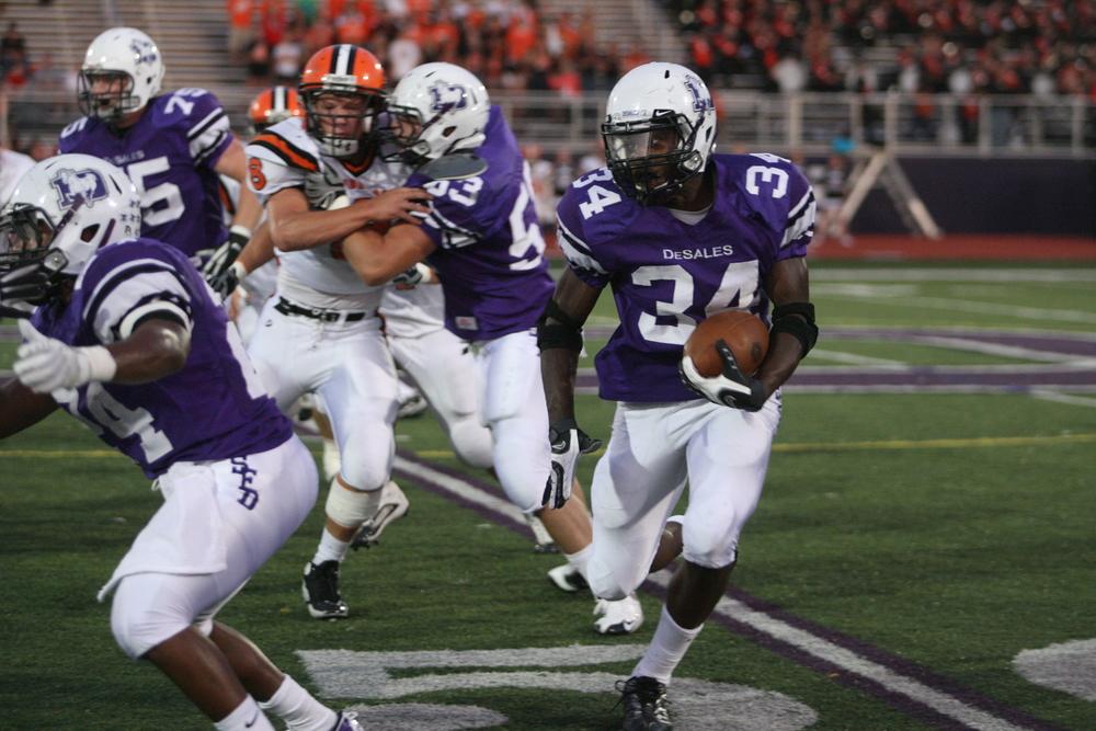 Sophomore Running Back Warren Ball vs. Anderson