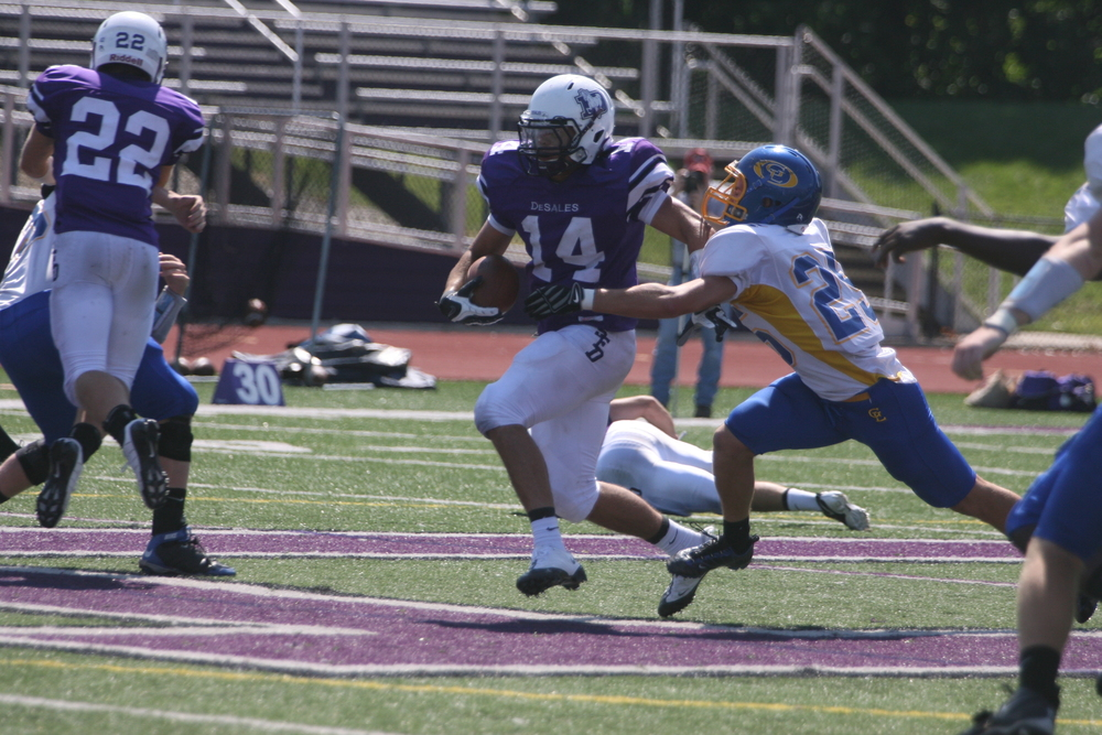 Junior Quarterback Nick Gentile vs. Gahanna