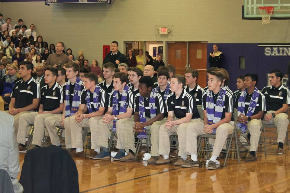 All-School Assembly Honoring the 2014 State Champions