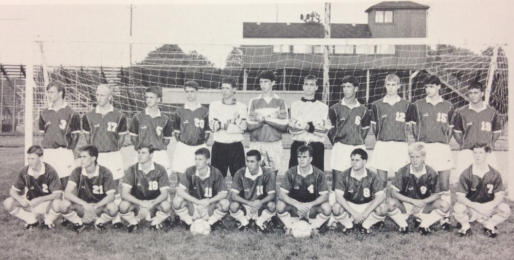 1990 STATE RUNNER-UP  Boys Soccer