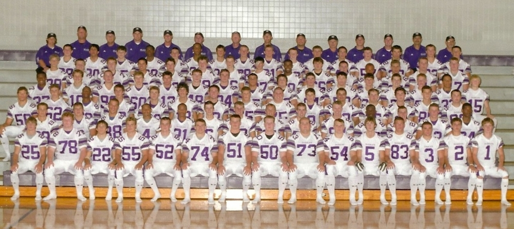 2005 STATE RUNNER-UP  Football