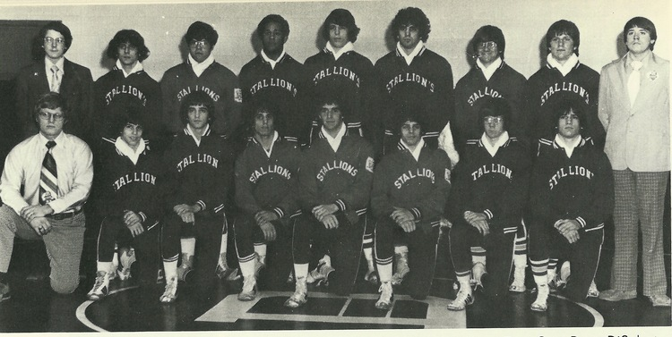 1976 STATE RUNNER-UP  Wrestling