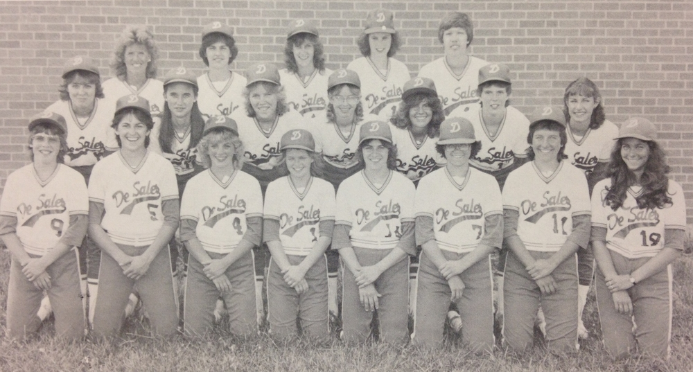 1982 STATE RUNNER-UP  Softball