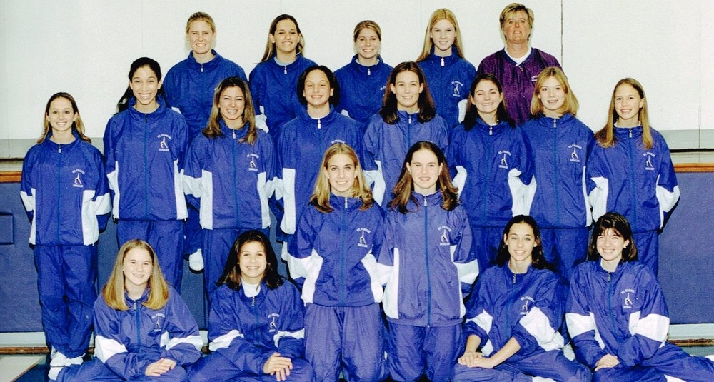 2001 STATE RUNNER-UP  Gymnastics