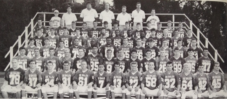 1990 STATE RUNNER-UP   Football