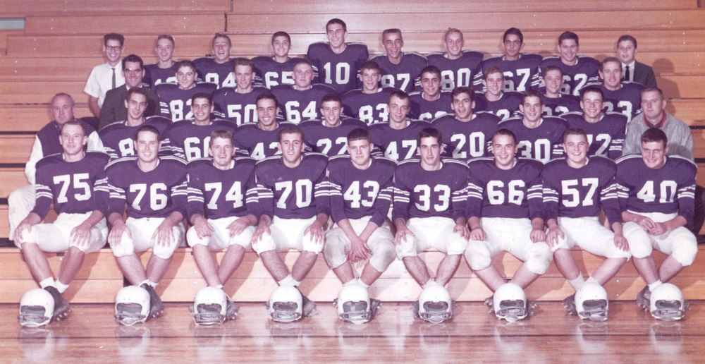 1962 Varsity Football Team