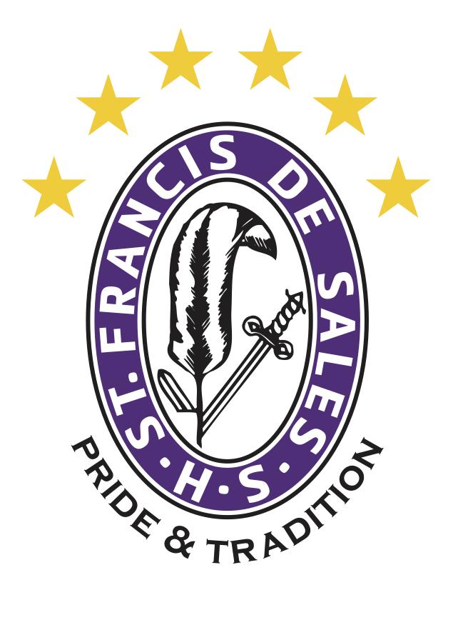 St. Francis DeSales HS Pen And Sword Crest 6 Stars.jpg