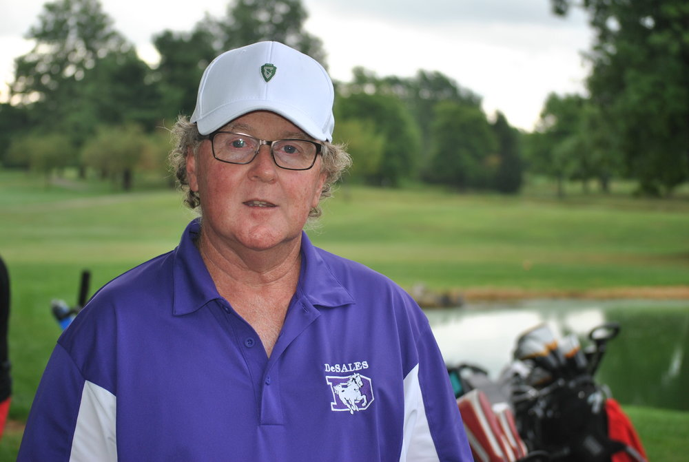 GIRLS GOLF     Coach Charlie Mitchell