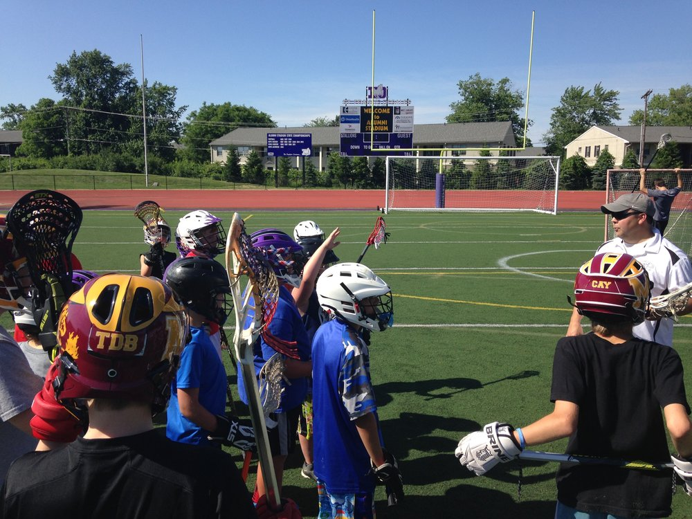 Boys Lacrosse Camp