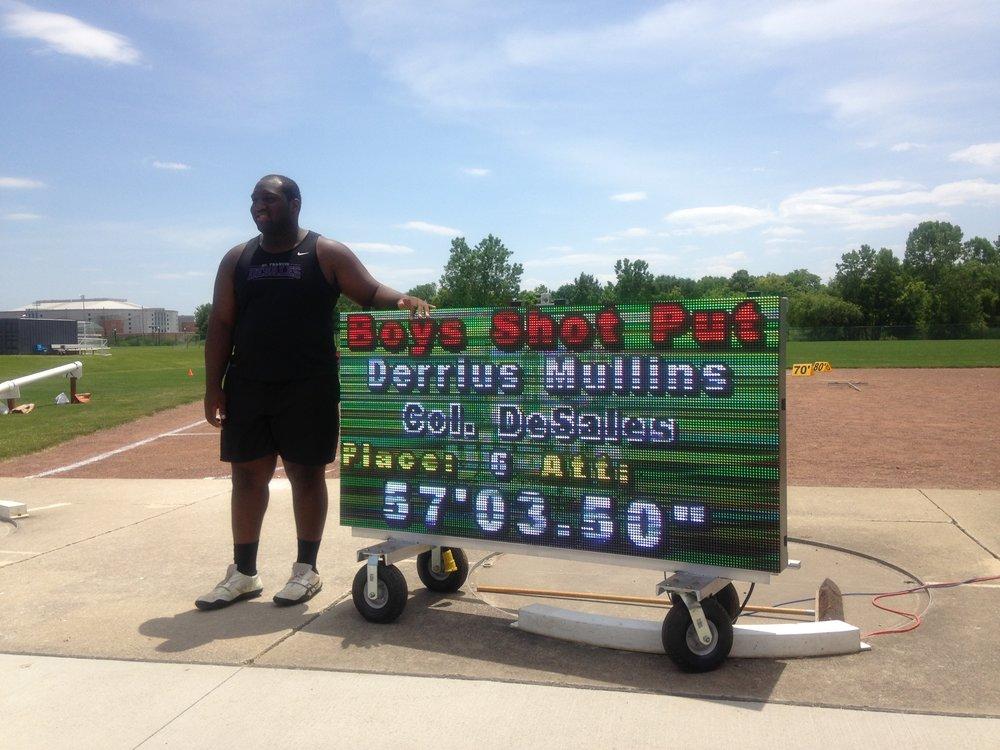 Derrius Mullins, 2017 State Qualifier