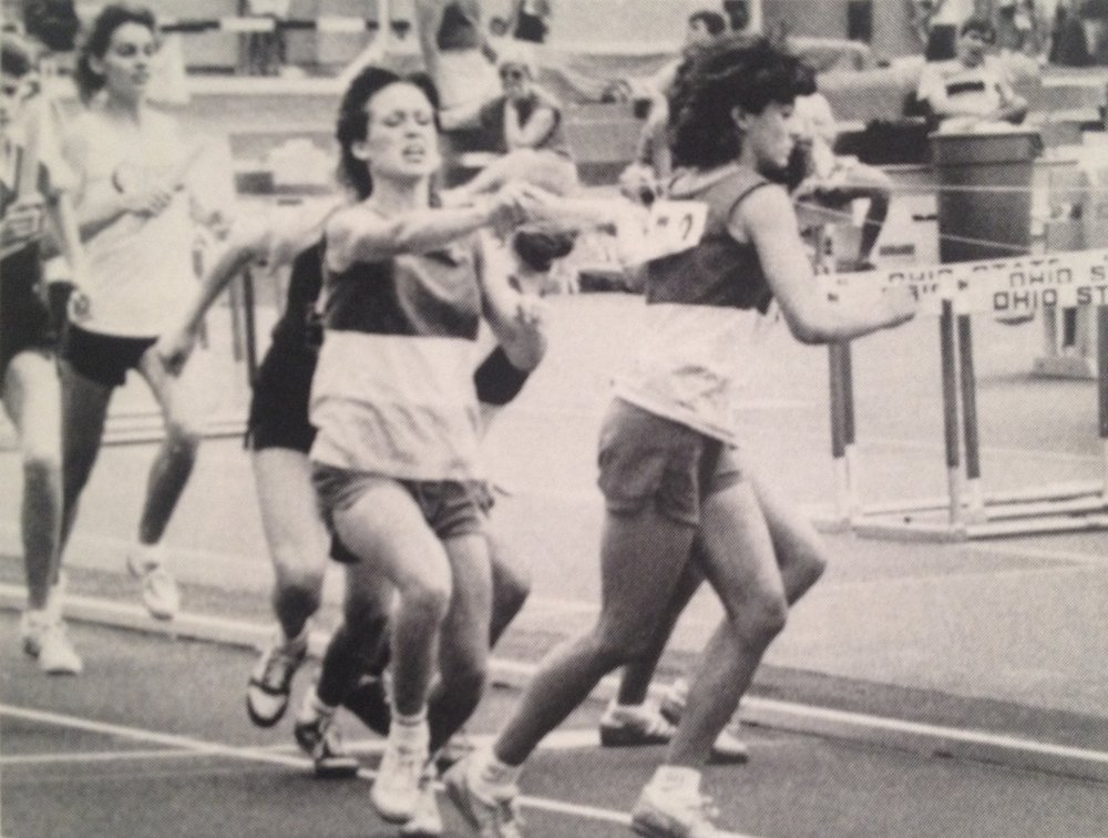 TRACK + FIELD    girls relays all ohio