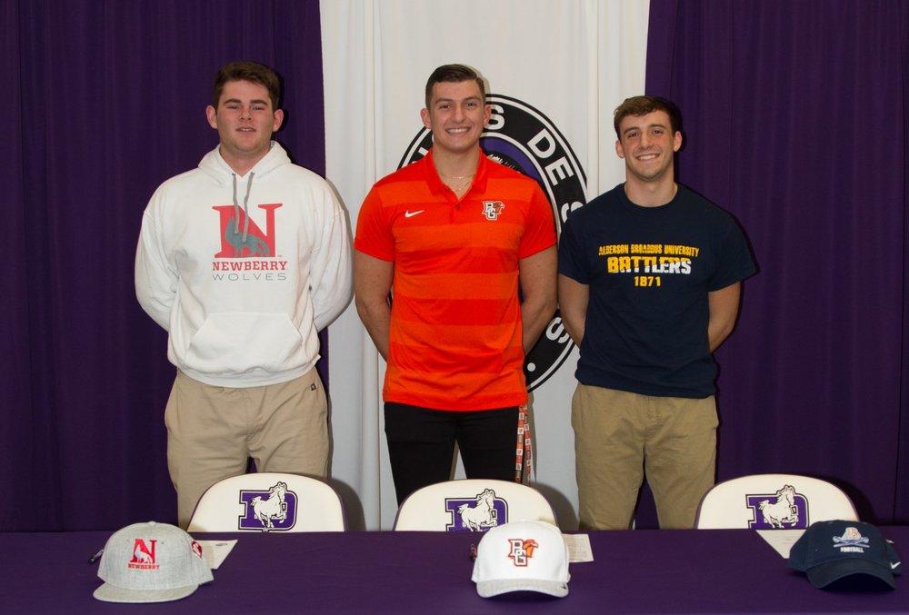 L to R: Bo Hobgood, Chris Karras, and Anthony Sciarroni.