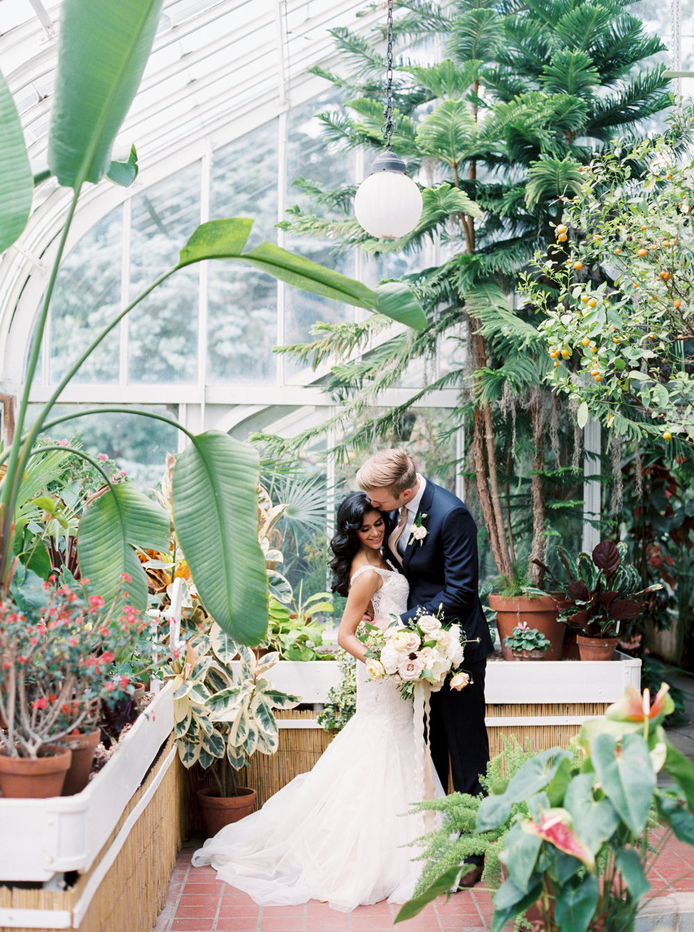 Green House Wedding - Tulsa Garden Center Wedding - eversomething.com