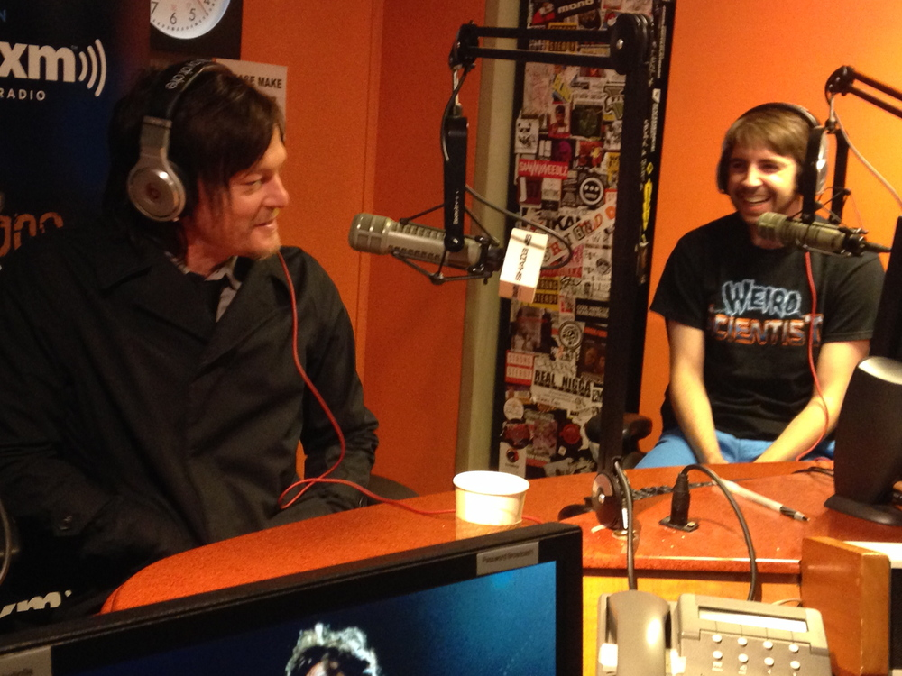 Live on SiriusXM Radio Mark with Norman Reedus of The Walking Dead