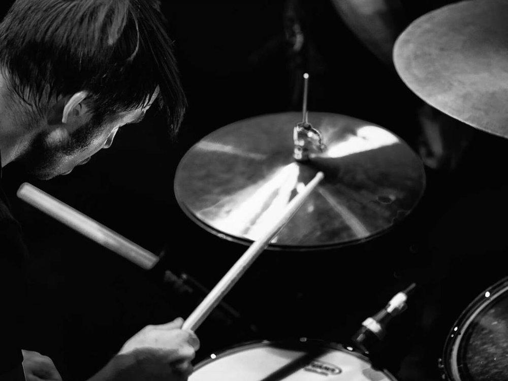 Mark Drums Over Shoulder Bowery.jpg