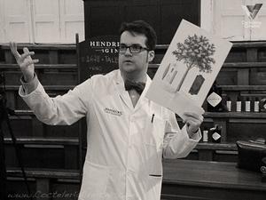 Hendrick's Quinetum launch, Madrid. Quinine presentation.