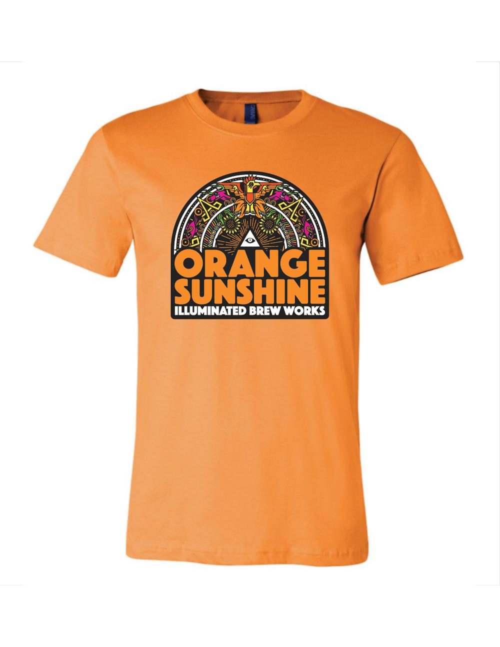 44fade609b1b Orange Orange Sunshine T-Shirt — Illuminated Brew Works