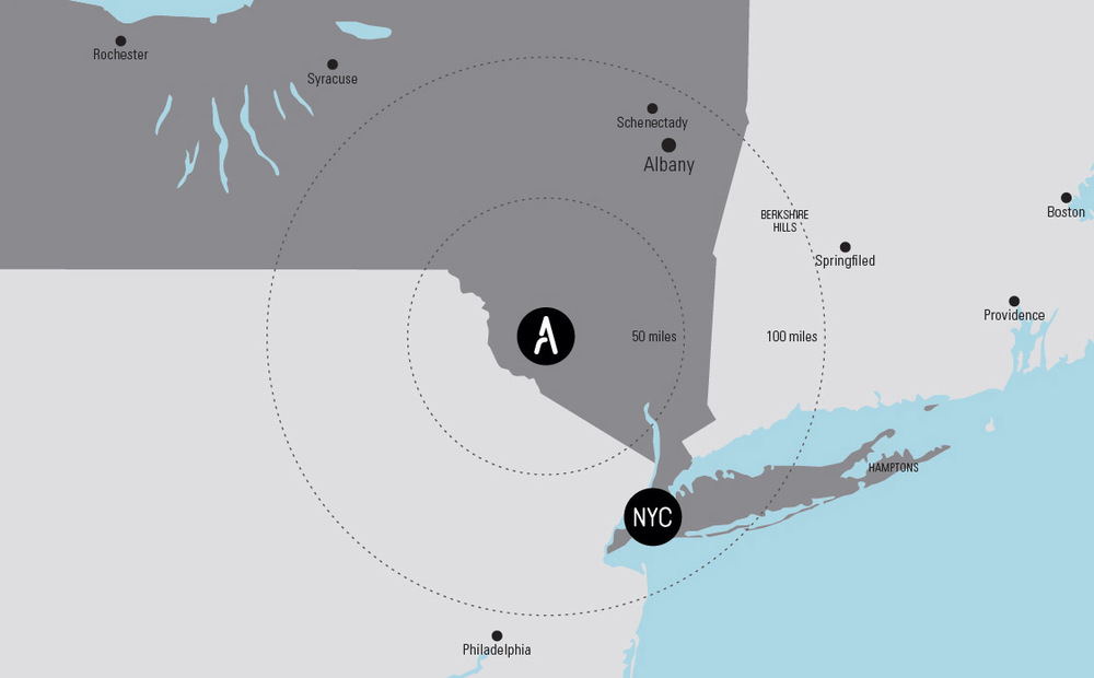 Just off Route 17 and less than 100 miles from New York City, Adelaar will provide four continuous seasons of entertainment and adventure for visitors, and year-round economic impact for Upstate New York.