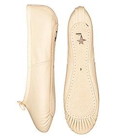 Full Sole Leather Ballet Shoe £8