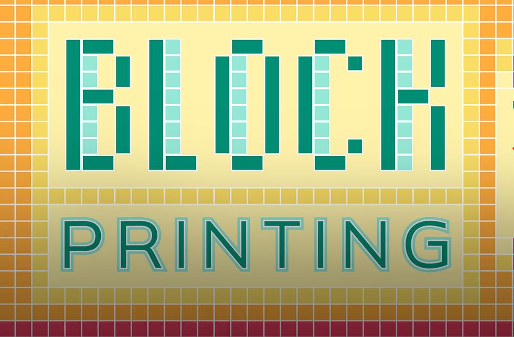 BLOCK PRINTING & LETTERPRESS WORKSHOP