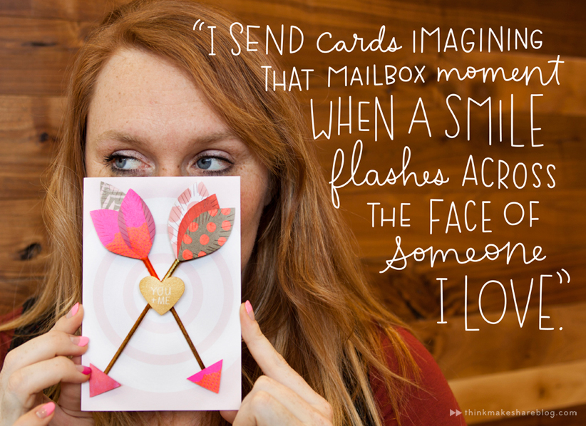 """Make someone's day with a """"just because"""" card"""