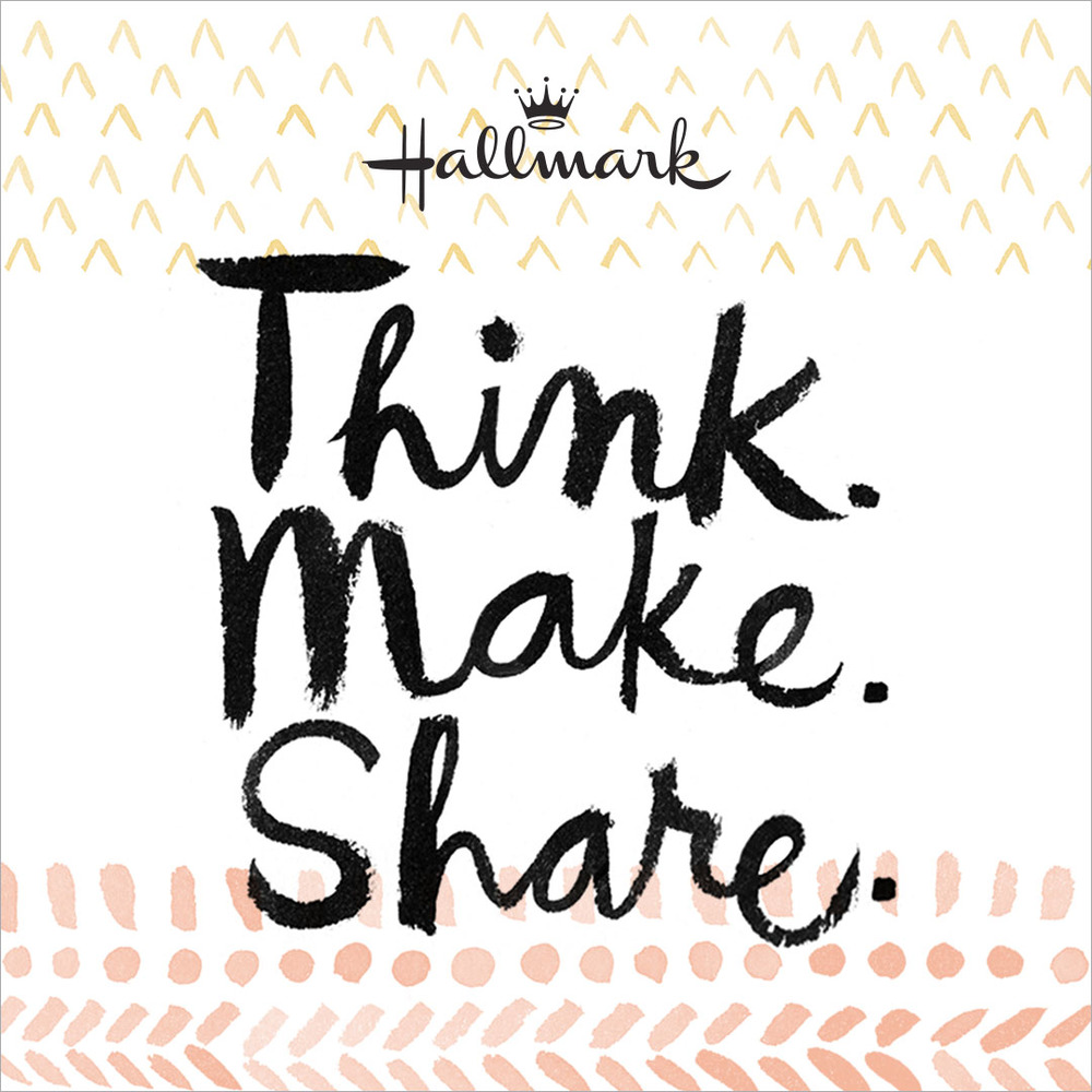Hallmark's Think.Make.Share Blog