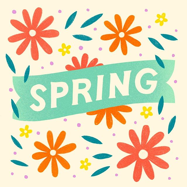 Hello, Spring! 🤗 We've been waiting for you ☀️🌷😎. What is your favorite part of Spring? #FirstDayofSpring #HelloSpring #Spring