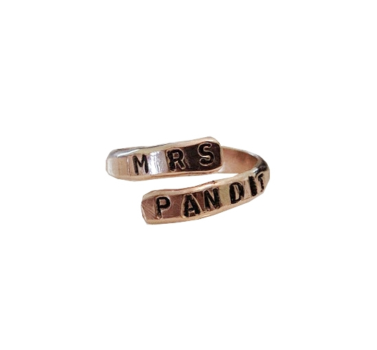 "Wifey Ring : Fully Customizable. Get creative !!! Add your custom wording after you click ""Purchase!"" YAY !"