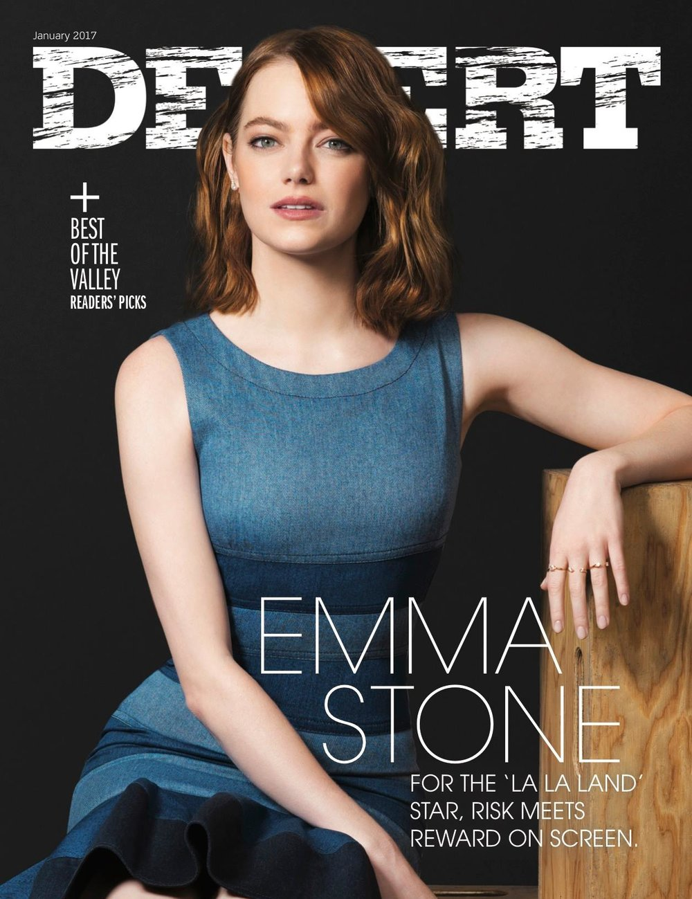 JANUARY 2017 - Meet a woodworker creating works of art, craft cocktails to impress on New Year's Eve and get the scoop on Emma Stone's resonant role in