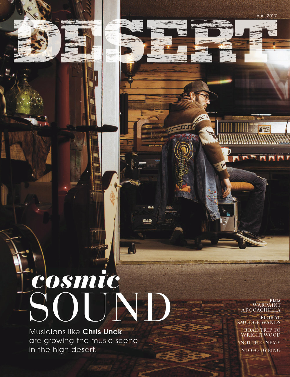 April 2017 - Get to know the high desert music scene, learn how to make floral smudge wands, and hear from Desert Sun staff about the cost and value of journalism.