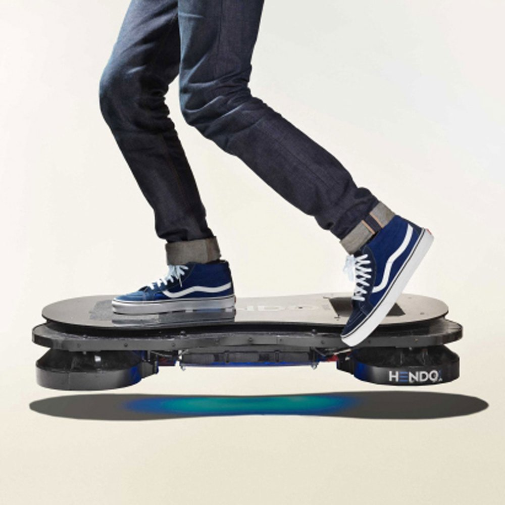 "I rode a hoverboard with Tony Hawk. I've been saying that a lot lately. Out loud. At all kinds of inopportune moments. Like, ""Hey, sorry I didn't get back to you, I was busy because I WAS RIDING A HOVERBOARD WITH TONY HAWK."" Like a total dick."