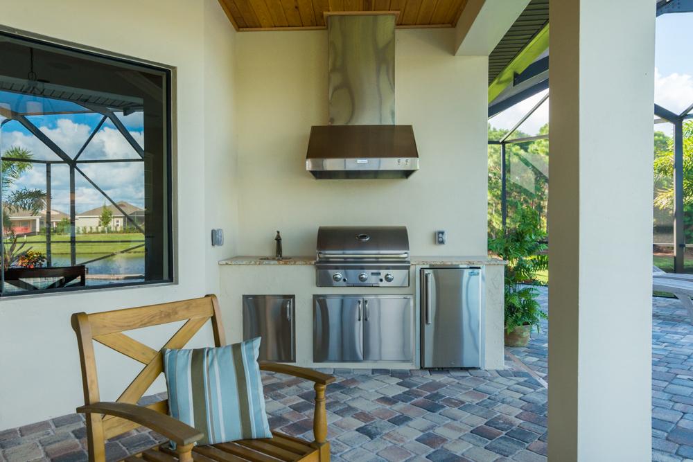 Summer Kitchens Monarch Homes of Brevard