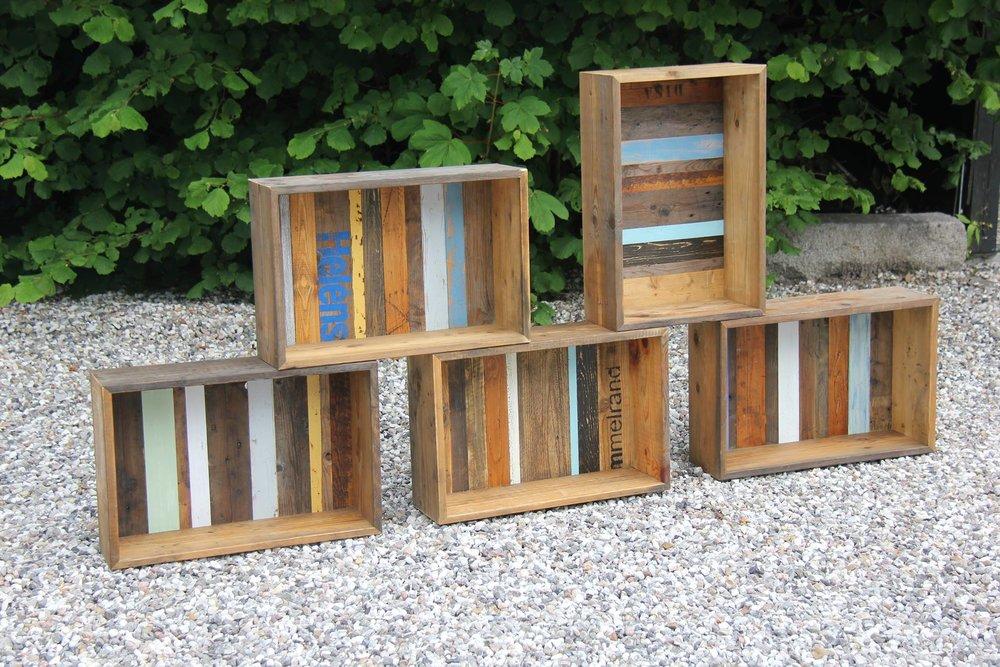 DeN originale Woodliving bogkasse