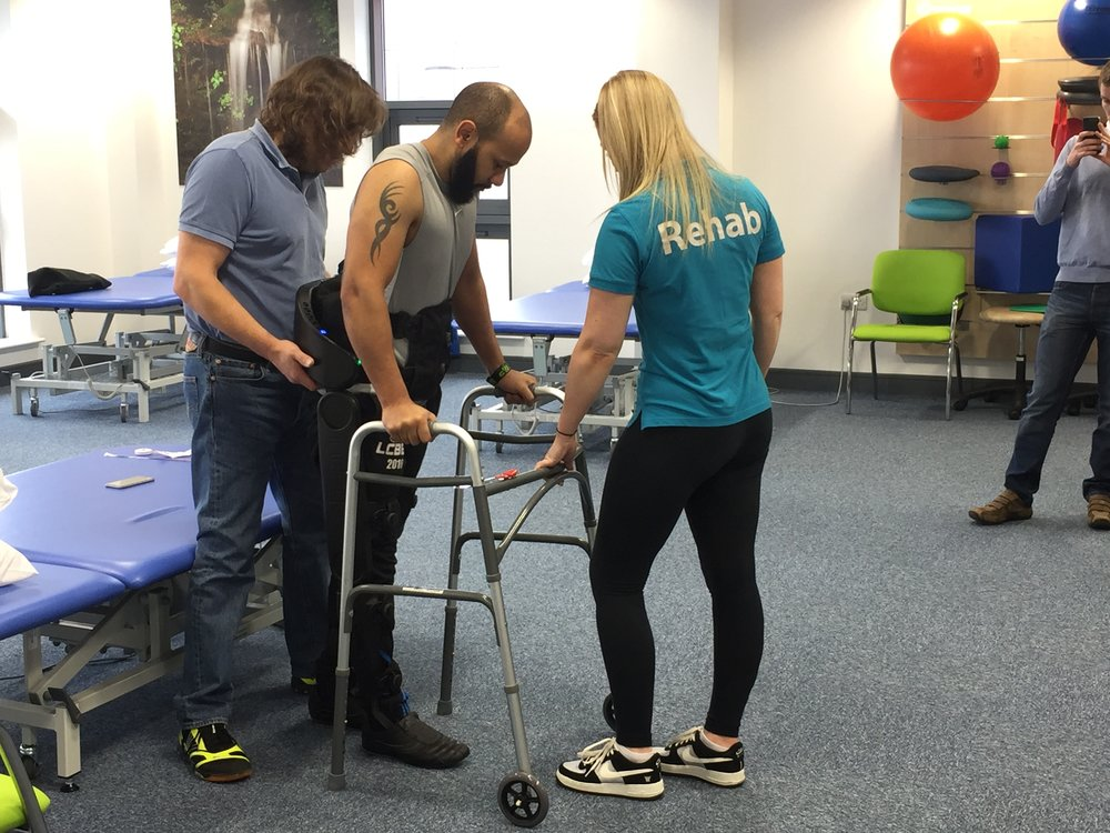 Indego Training at Bridge4Rehab