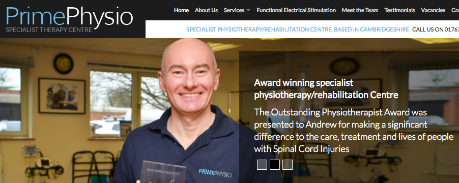 Andrew Galbraith of Prime Physiotherapy